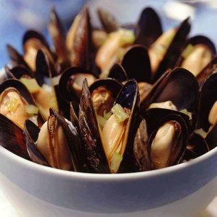 Zeeuwse mosselen Jumbo - ca. 1 kg