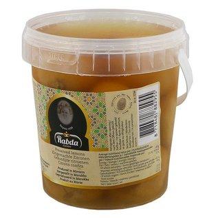 Rabda Cuisine Depuis 1930 Zitrone mit Salz und Wasser eingelegt