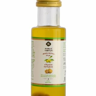 Karlić Tartufi Olivenöl mit weißem Trüffelgeschmack