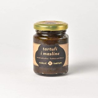 Karlić Tartufi Zwarte truffel (heel) in olijfolie