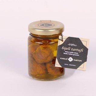 Karlić Tartufi Witte truffel (heel) in olijfolie