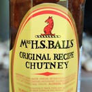Mrs. H.S. Balls Chutney - original recipe