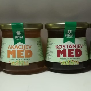 BOŽNAR Slovenian Chestnut honey