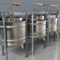 Tehnovar Fruit press (stainless steel) 10 ltr