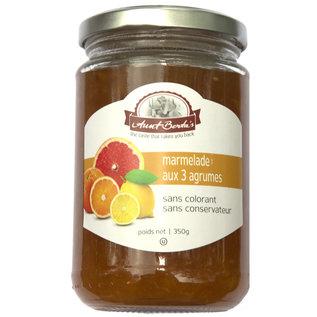Aunt Berta's Marmelade aus Orange, Grapefruit und Zitrone