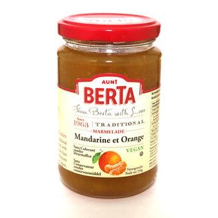 Aunt Berta's Mandarijn-Sinaasappelmarmelade zonder kleurstoffen en conserveringsmiddelen