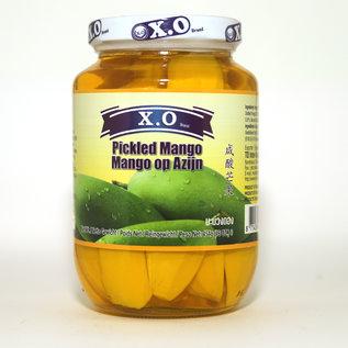 X.O. Ingelegde mango, mango op azijn