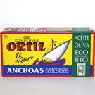 Ortiz Anchoas en aceite de oliva (Sardellen in Bio-Olivenöl)