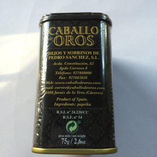 Pimentón de la Vera - Caballo Oros