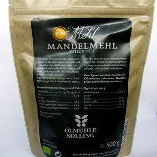 Ölmühle Solling Amandelmeel 500 gr, donker