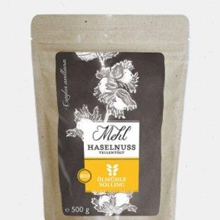Ölmühle Solling Hazelnootmeel • 500 gr