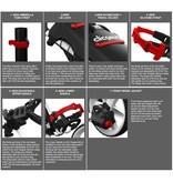 Clicgear Clicgear 4.0 Golftrolley Roze
