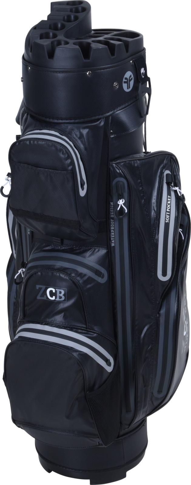 FastFold Fastfold ZCB Waterproof Cart Bag Black/Grey