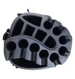 FastFold Fastfold ZCB Waterproof Cart Bag Black/Red