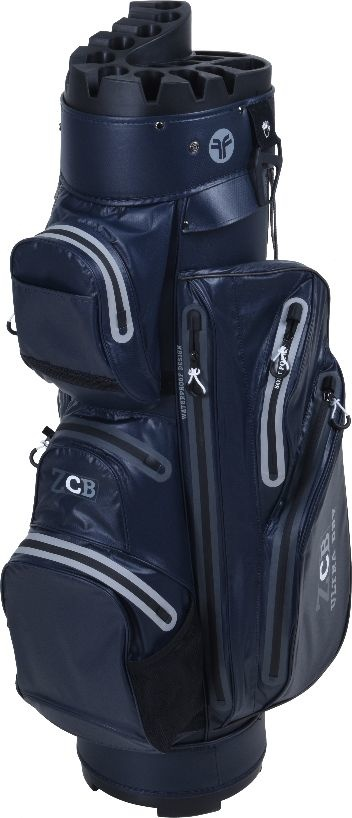 FastFold Fastfold ZCB Waterproof Cart Bag Blue/Silver
