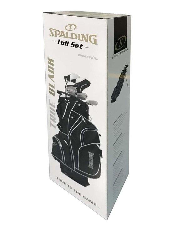 Spalding Spalding True Black 14-Delige Graphite Standaard Golfset - Rechtshandig Heren