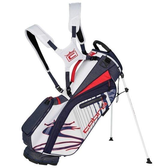 Cobra Cobra Ultralight Stand Bag Zwart Wit Rood