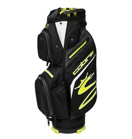 Cobra Cobra UltraLight Cart Bag Black Turbo Yellow