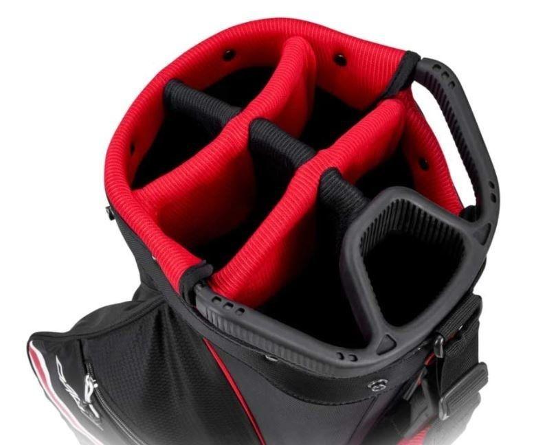 Callaway Callaway Org 7 Cart Bag Zwart Rood