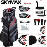 Skymax Skymax S1 Heren Halve Set Rechtshandig Staal +1 inch verlengd