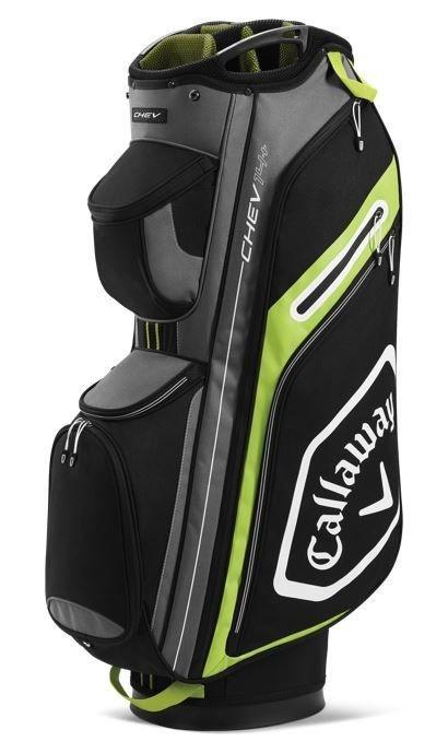 Callaway Callaway Chev 14 Cart Bag Zwart Grijs Geel