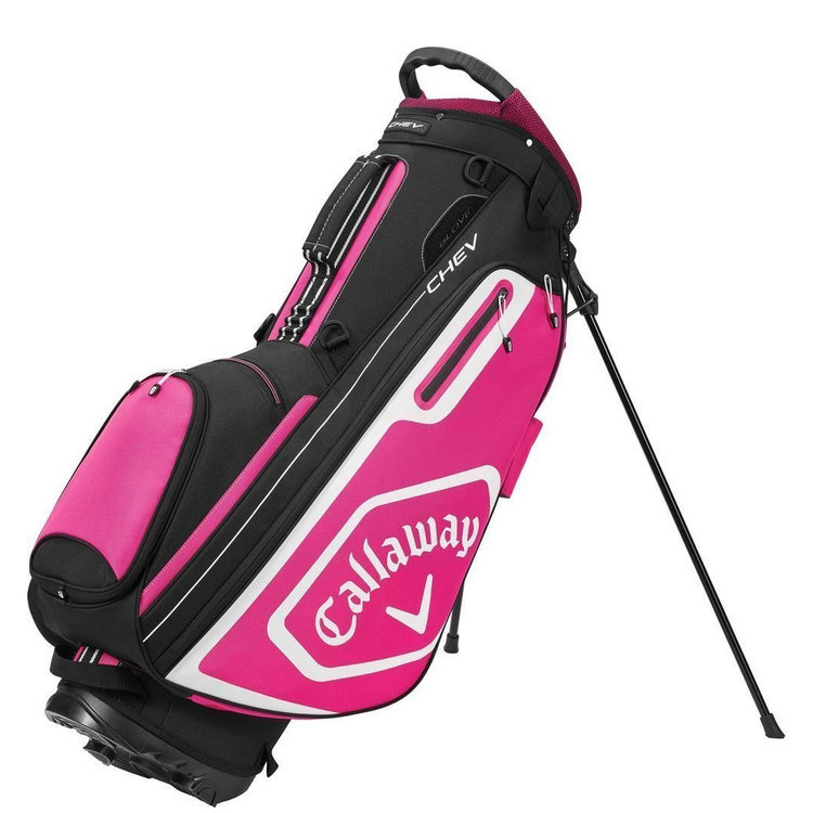 Callaway Callaway Chev Stand Bag Black Pink