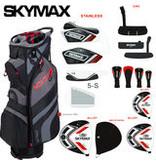 Skymax Skymax S1 Complete Heren Golfset Heren Rechtshandig met Graphite Shafts + 1 Inch