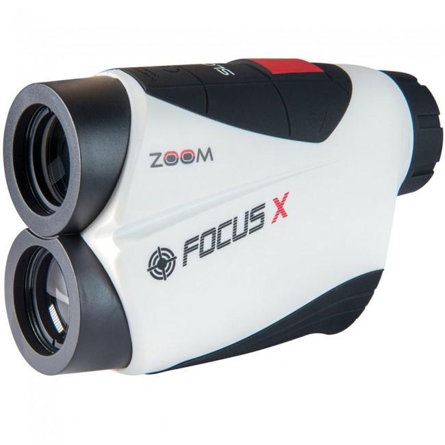 Zoom Zoom Focus X Golf Rangefinder White