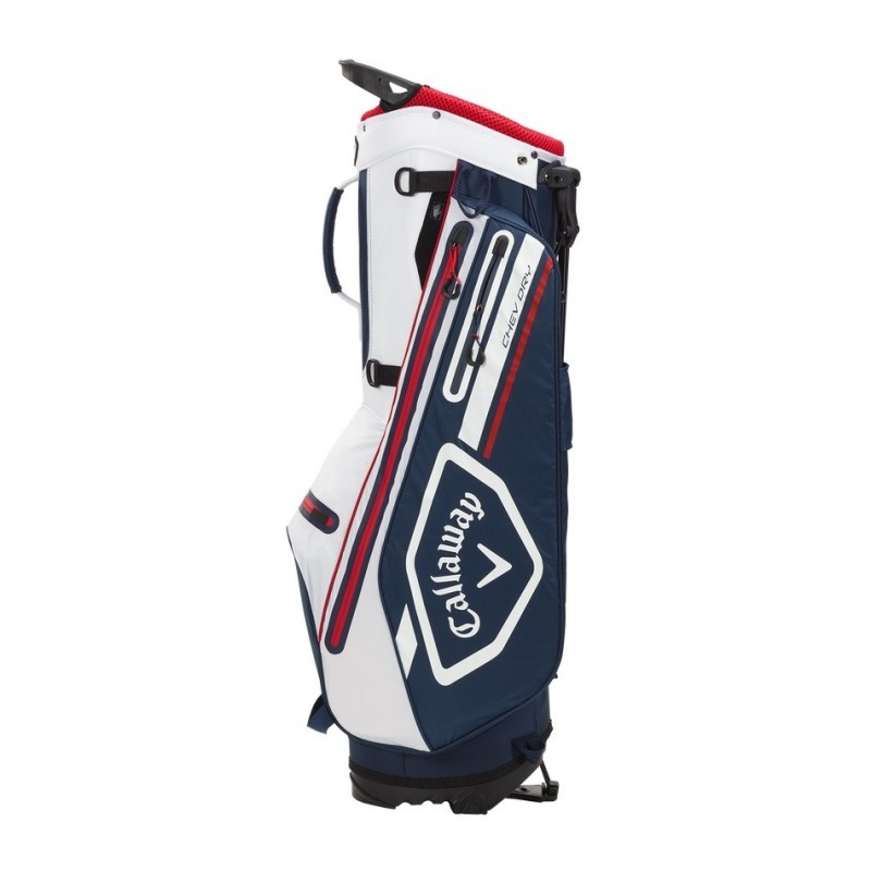 Callaway Callaway Chev Dry Stand Bag Black Navy White Red