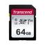 Transcend TS64GSDC300S flashgeheugen 64 GB SDXC Klasse 10