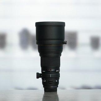 SIGMA Sigma 300mm 2.8 EX DG + 2x EX APO teleconverter (N)(2544+3262)