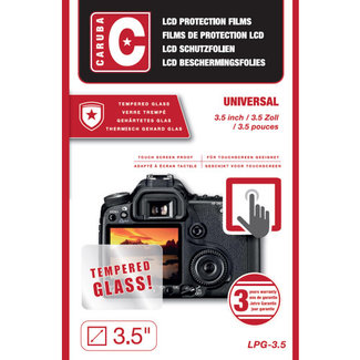 "Caruba Caruba LCD Optical Glass Protector 3,5"" (2 stuks)"