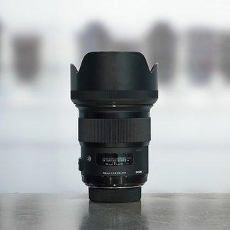 SIGMA Sigma 50mm 1.4 DG HSM Art (Nikon) nr. 3743