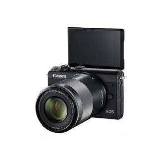 Canon Canon EOS M100 zwart + EF-M 15-45mm 3.5-6.3 IS STM - OUTLET - nr. 3870