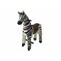 MY PONY, rijdend speelgoed zebra, klein