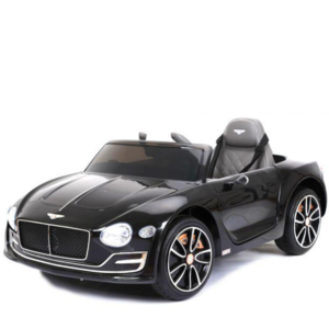 Bentley Bentley EXP 12V met Rubberen banden en Leren zitje (Zwart)