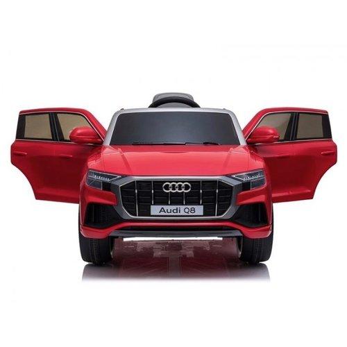 Audi Audi Q8 12 V kinderauto Metallic Rood
