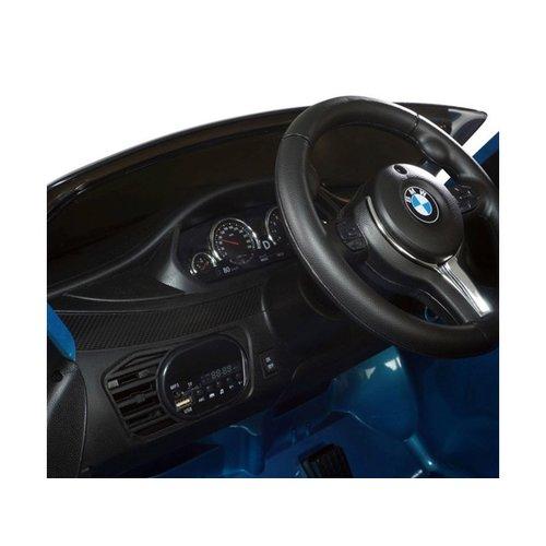 BMW BMW X6M 12V Children Car Metallic Blue