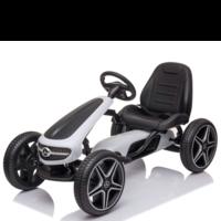 Mercedes-Benz Go-Kart White