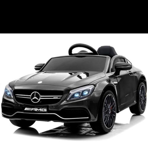 Mercedes Mercedes C63 AMG 12V Children Car Metallic Black