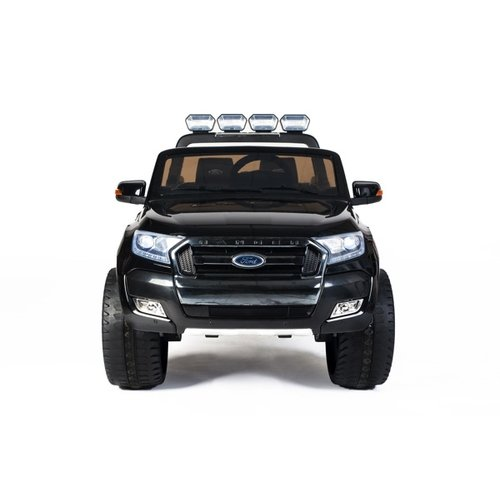 Ford kinderauto Ford Ranger 12V 2-persoons kinderauto metallic zwart