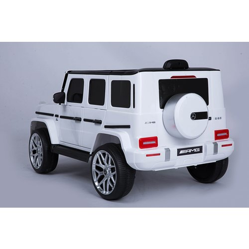 Mercedes Mercedes G63 AMG 12V Children Car White