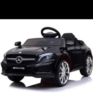 Mercedes kinderauto Mercedes GLA45 AMG 12V Kinderauto Zwart