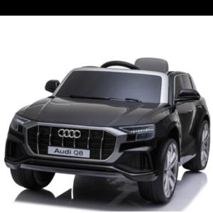 Audi kinderauto Audi Q8 12 V Kinderauto Metallic Zwart