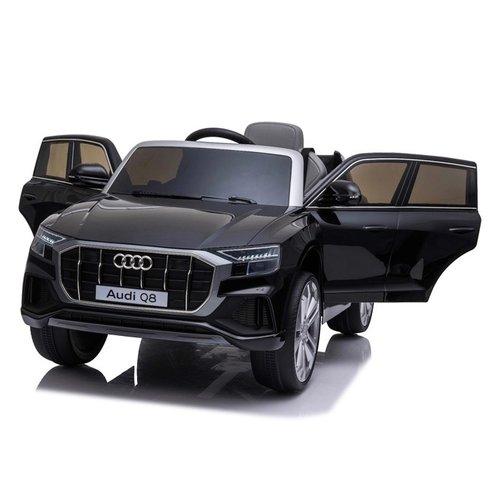 Audi Audi Q8 12 V Kinderauto Metallic Zwart