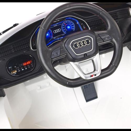 Audi Audi Q8 12V Children Car White