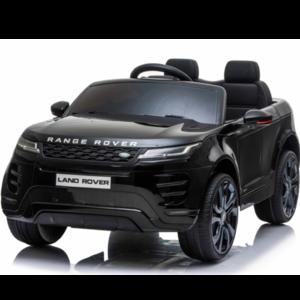 Range rover kinderauto Range Rover Evoque 12V Kinderauto Metallic Zwart