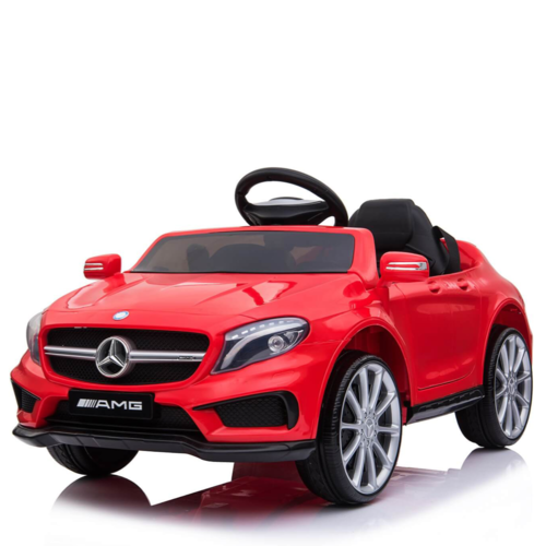 Mercedes Mercedes GLA45 AMG 12V Kinderauto Rood
