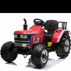 Elektrische Kindertractor Blazin Wheels 12V Rood