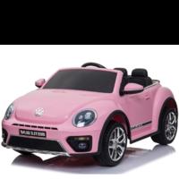 Volkswagen Dune Beetle 12V met Rubberen banden (Roze)